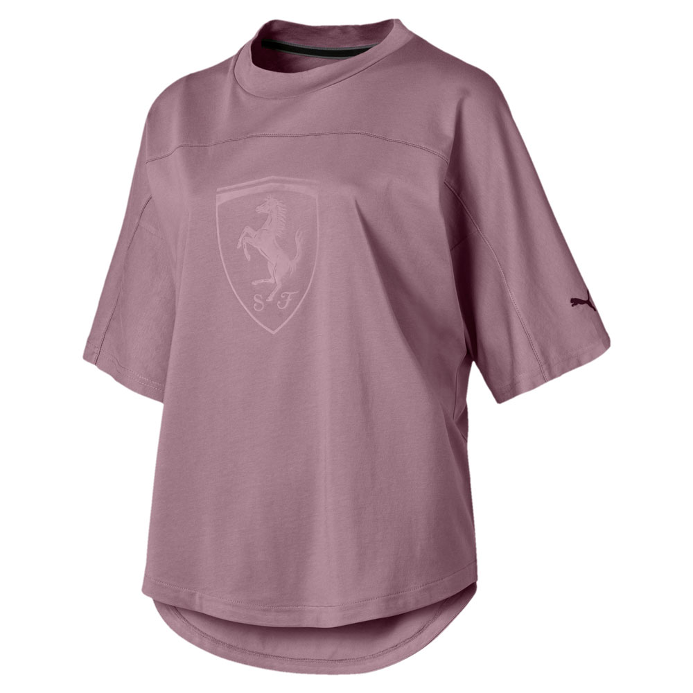 Futbolka Puma Ferrari Wmn Big Shield Tee