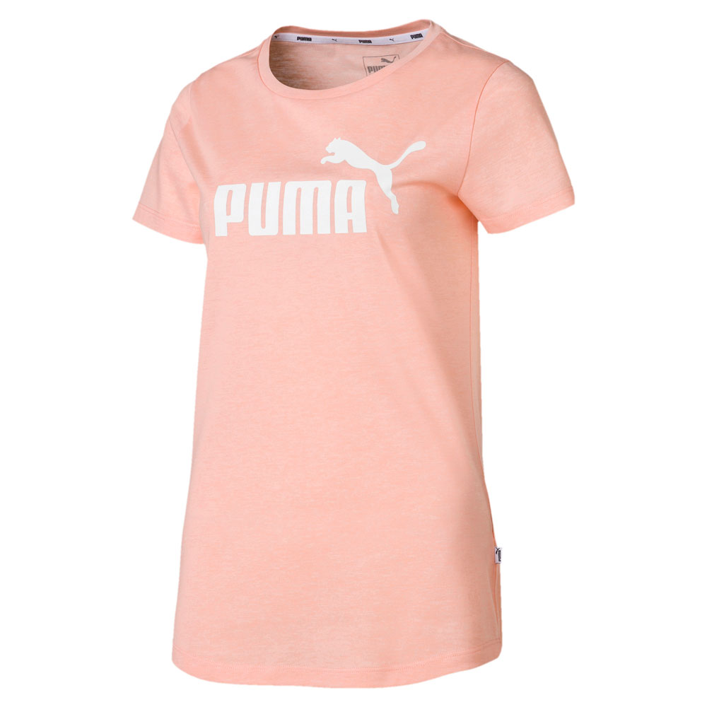 Futbolka Puma ESS+ Logo Heather Tee